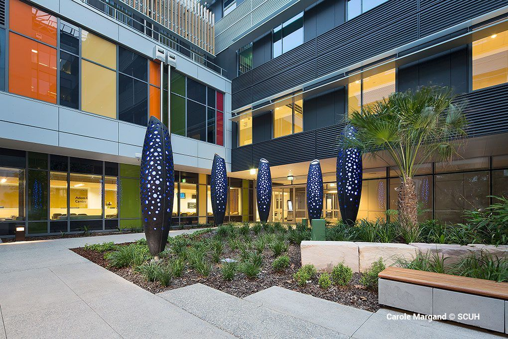Sunshine Coast University Hospital - Place Design Group - Copyright: Carole Margand